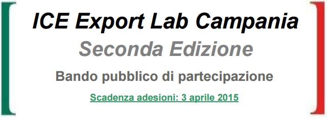 Ice Export Lab Campania: un bando per la formazione di nuovi manager con vocazione internazionale