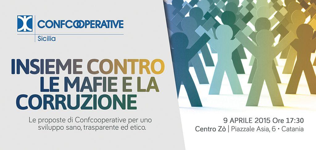 Insieme contro le mafie e la corruzione: Confcooperative Sicilia promuove la legalità