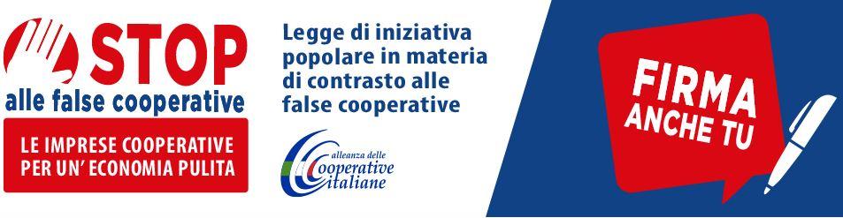 False cooperative: raccolte più di 30.000 firme