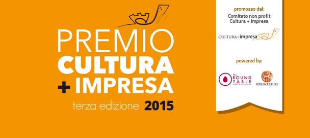 Cultura + Impresa: il premio per le imprese impegnate in attività culturali