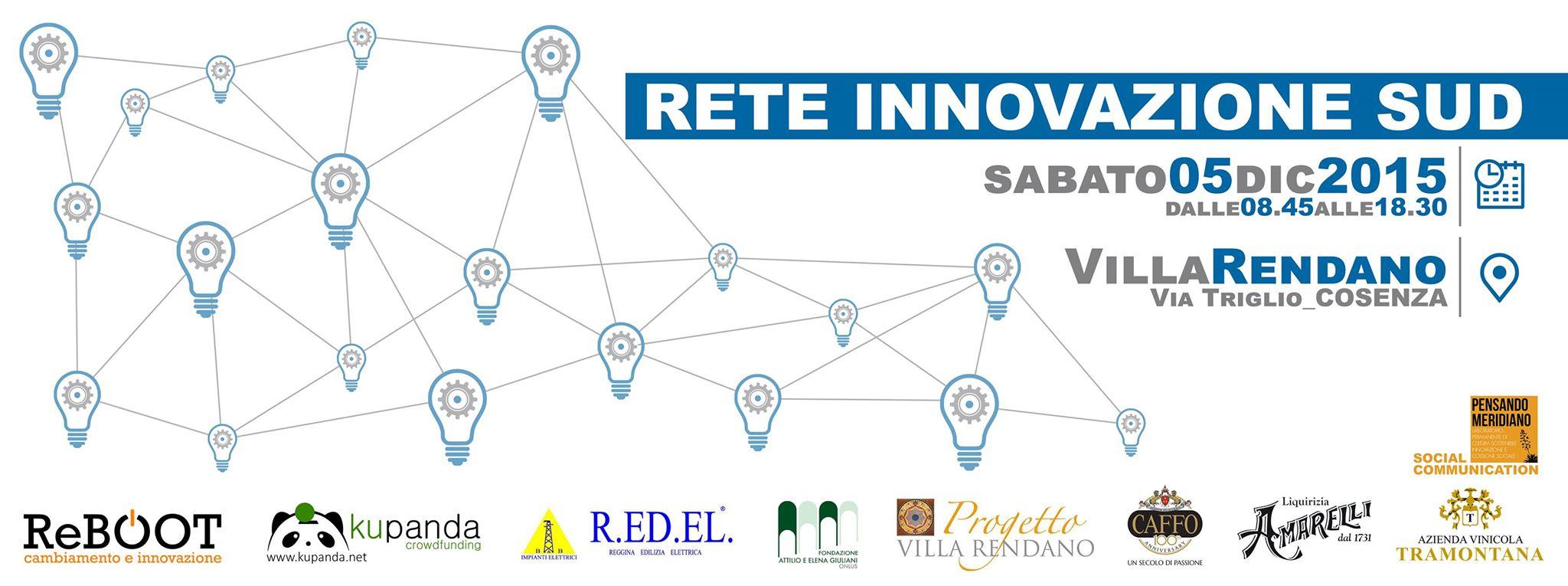 Rete Innovazione Sud: l'evento per le associazioni innovative del Mezzogiorno