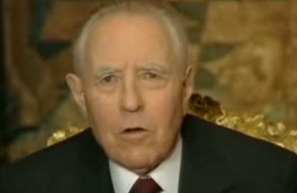 Morto l'ex presidente della Repubblica Carlo Azeglio Ciampi